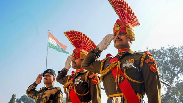As many as 51 Border Security Force (BSF) personnel were honoured with the distinguished and meritorious service police medals(PTI)