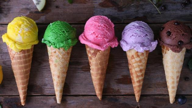 The ice cream has been developed in four flavours -- Tulsi (basil), Saunf (fennel seed), Mulethi (Liquorice) and a mixed flavour. (Representational image)(Shutterstock)