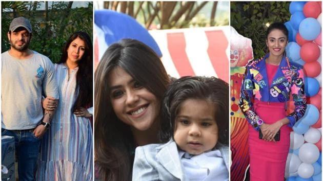 Ekta Kapoor's son Ravie Kapoor turns one on January 27.