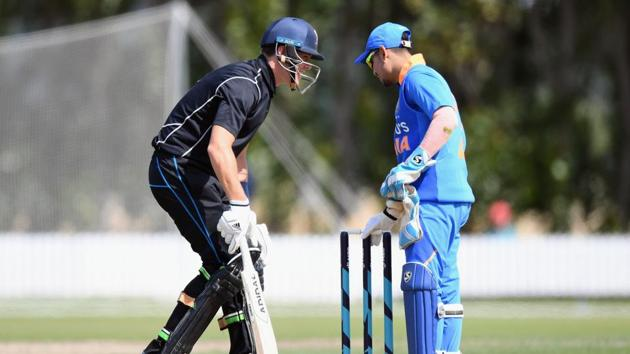 India A had won the opening ODI by five wickets while New Zealand rallied to win the next before clinching the series with Sunday's victory.(Getty Images)