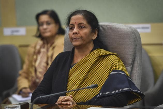 The task ahead for finance minister, Sitharaman, is difficult. To use an analogy from cricket, the economy's current position is akin to a team that has lost early wickets while chasing a big target. Now, it has to maintain the required run rate without further losing wickets(PTI)