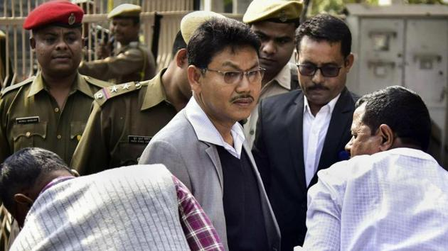 National Democratic Front of Bodoland (R) chief Ranjan Daimary was recently released on bail to join the peace talks.(PTI Photo/File)