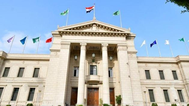 Female academic staff at Cairo University have been banned from wearing the niqab according to a judgement passed by a top Egyptian court.(Facebook/cu.edu.eg)