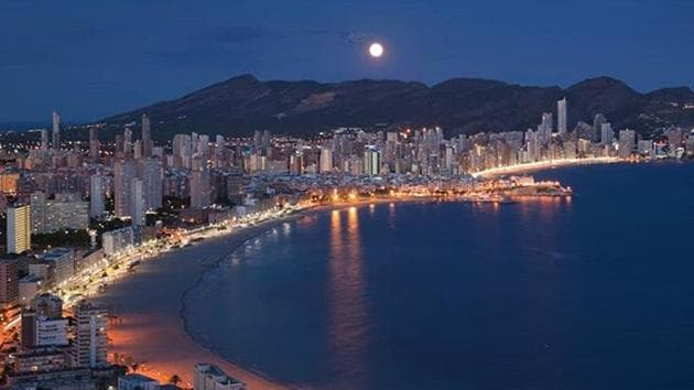 Beyond Benidorm: Spain tourism moves inland.(VisitBenidorm/Instagram)