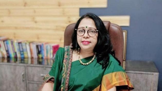 Vibha Gupta, Head of School, Delhi Heritage School, Sec-22, Rohini.(HT)