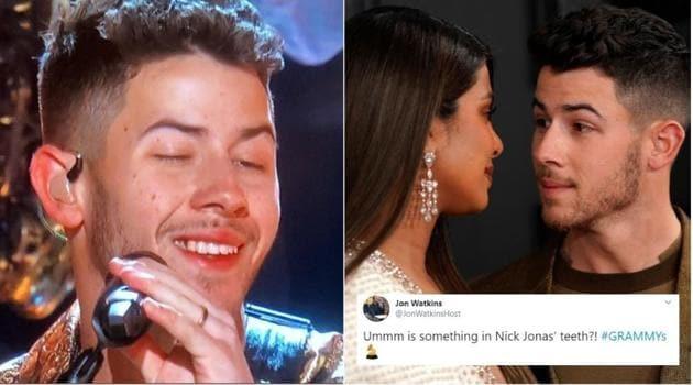 Nick Jonas's food faux pas lit up Twitter.