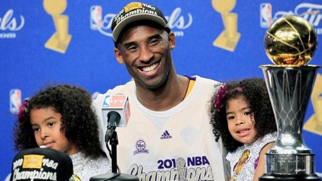 A file photo of Los Angeles Lakers' Kobe Bryant.(REUTERS)