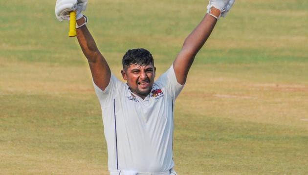 Mumbai player Sarfaraz Khan(PTI)