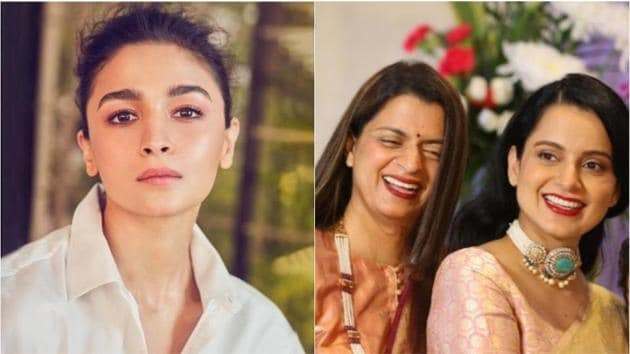Alia Bhatt is unaffected by Rangoli Chandel's tweet about her flowers for Kangana Ranaut.