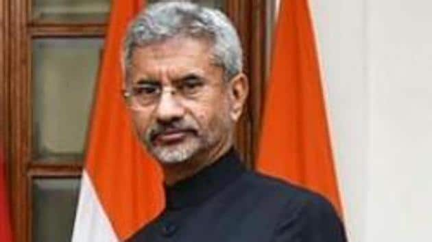 S Jaishankar is on a two-day visit to Kevadiya, the site of the Statue of Unity and Rajpipla town in neighbouring Narmada district.(ANI Photo)