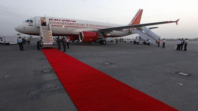 In this May 11, 2012, file photo, an Air India aircraft stands at the Indira Gandhi International airport in New Delhi, India.(Photo: AP)