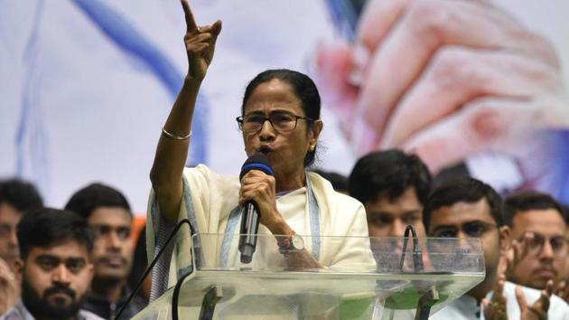 Bengal Chief Minister Mamata Banerjee(Samir Jana/ HT Photo)