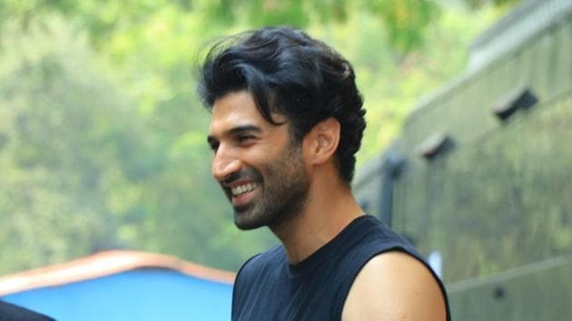 Actor Aditya Roy Kapur during the promotions of his upcoming film Malang.(IANS)