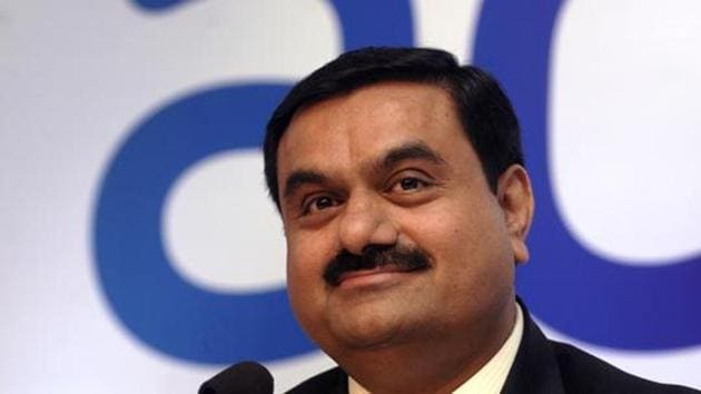 Gautam Adani, chairman of the Adani Group during a press conference announcing their new brand identity in Mumbai.(Photo: ABHIJIT BHATLEKAR/MINT)