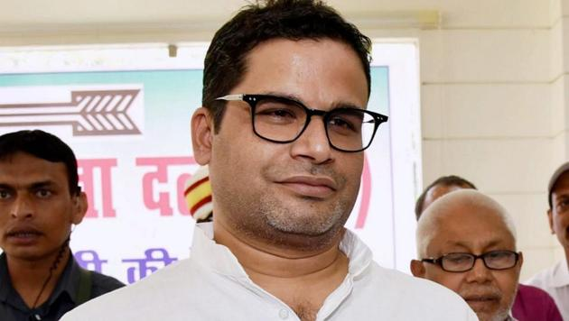 Janata Dal (United) vice president and electoral strategist Prashant Kishor has been critical of the party for its support to the Citizenship (Amendment) Act.(PTI)