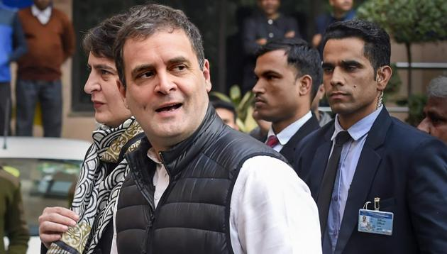 Congress leader Rahul Gandhi is expected to attack the BJP over the economy, inflation and unemployment.(PTI)