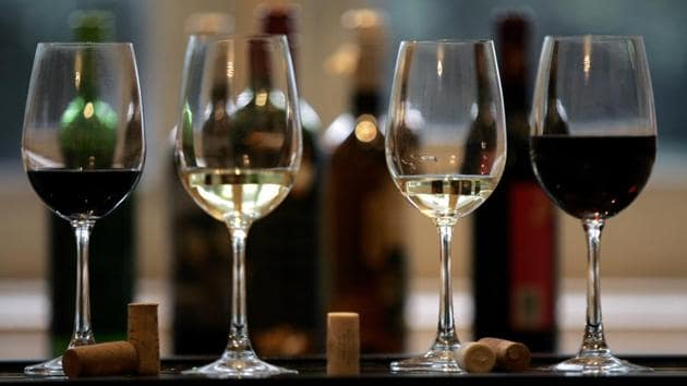 The move was also chalked out to put UP 'at par' with other states where hotels serve alcohol late into the night, officials said.(HT FILE PHOTO.)