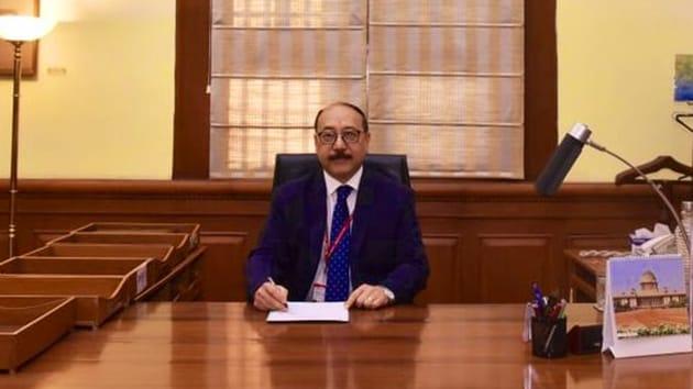 Harsh Vardhan Shringla took charge as new foreign secretary on Wednesday(ANI/Twitter)