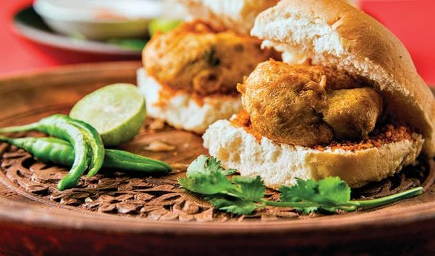The consensus is that vada pav became popular in the mid to late 1970s in suburban Mumbai, often at train stations(Shutterstock)