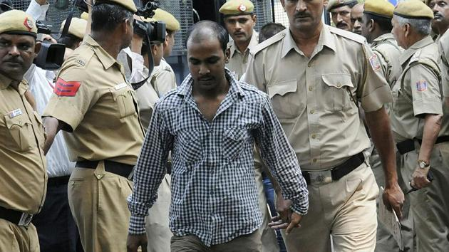 The mercy plea of Mukesh Kumar Singh, one of the four convicts in the December 2012 Delhi gang rape case, was rejected by the President on Jan 17, 2020, just four days after it was filed.(HT File)