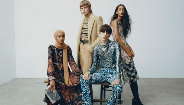 This Men's Fall Winter 2020 season's undone silk shirts, head-to-toe leather looks , the boots and high heel rage and more.(Instagram/ pacorabanne)