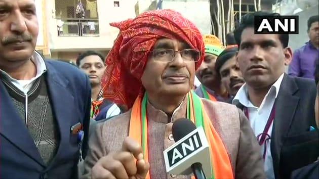 Former Madhya Pradesh Chief Minister and senior BJP leader Shivraj Singh Chouhan.(ANI)