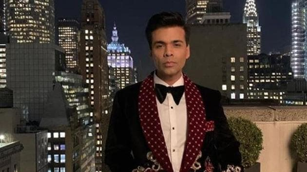 Karan Johar was named as one of the recipients of Padma Shri this year.(Instagram)