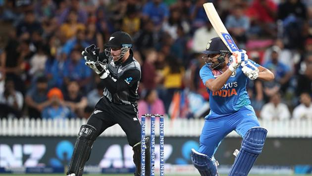 Rohit Sharma in action(BCCI)