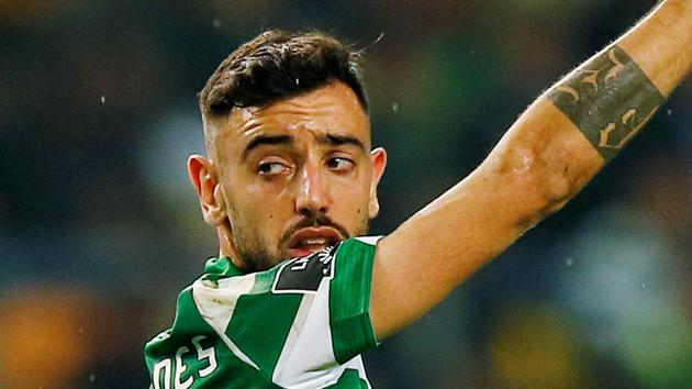 File image of Portuguese international midfielder Bruno Fernandes(REUTERS)
