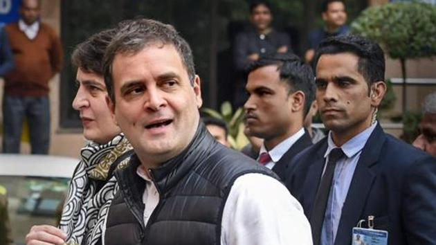 Rahul Gandhi will lead an anti-CAA rally in his constituency, Wayanad in Kerala, on Thursday.(PTI Photo)