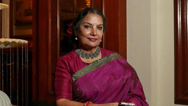 The teacher had commented against the people who targeted Shabana Azmi and were wishing for her death when the actor met with a car accident on Mumbai-Pune Expressway on January 18.(HT FILE Photo)