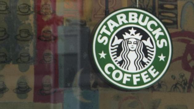 Starbucks' earnings rose 16% to $886 million in the fiscal first quarter.(Bloomberg Photo)