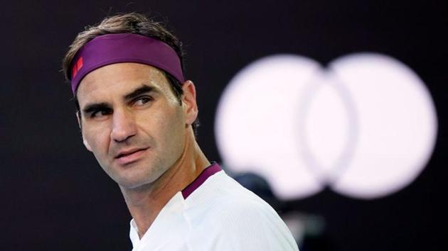 Switzerland's Roger Federer reacts after wining his match against Tennys Sandgren.(REUTERS)