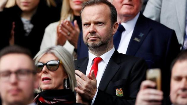 Manchester United executive vice-chairman Ed Woodward in the stands.(Action Images via Reuters)