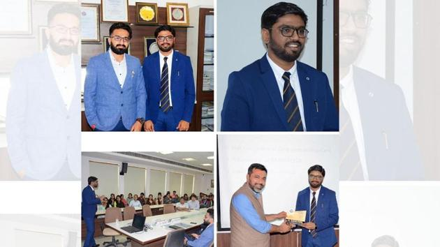 CA. Dr. Harsh Patel, a promising CA and a self-made entrepreneur, expressed his views on the current needs for the chartered accountancy fraternity.(Digpu)