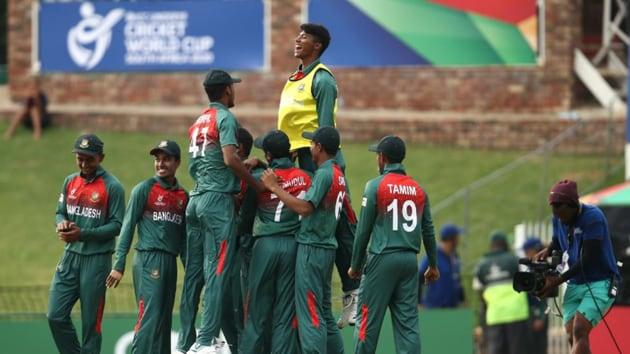 Bangladesh U19 cricket team.(@cricketworldcup)