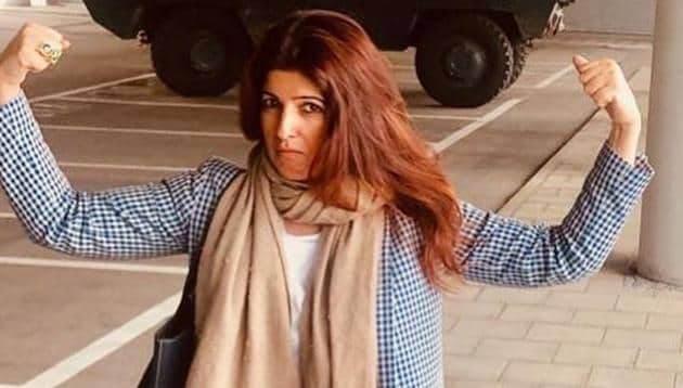 Twinkle Khanna revealed in a tweet that she slipped in the shower on Thursday morning.