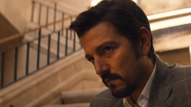 Diego Luna in a still from the Narcos: Mexico trailer.