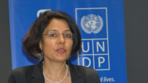 The UN has appointed Gita Sabharwal of India as the Resident Coordinator in Thailand.(UNDP In Sri Lanka/Twitter)