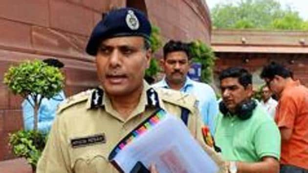 The 1985-batch officer of AGMUT cadre, Amulya Patnaik, was going to retire on Friday. Patnaik was appointed the Delhi Police chief in January 2017.(ANI)