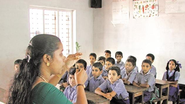 Odisha would start teaching spoken English from Std 1 in all its schools and develop 101 schools as centres of excellence where an English medium section would be started from Std 1.(Alamy Stock Photo/file)