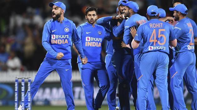 India take on New Zealand in the 4th T20I in Hamilton(AP)