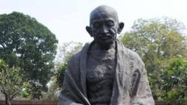 Mahatma Gandhi statue in the Parliament premises.(IANS File Photo/Representative Images)