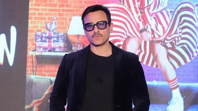 Saif Ali Khan during the promotions of Jawaani Jaaneman in Mumbai.(IANS)