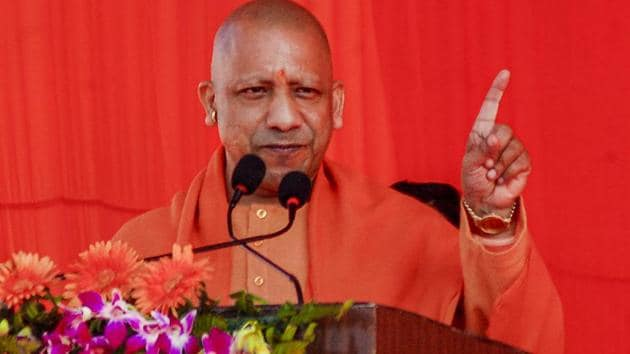 Uttar Pradesh Chief Minister has hit out against the anti-CAA protestors and said they were speaking Pakistan's language.(PTI Photo)