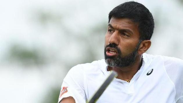 File image of India tennis star Rohan Bopanna.(AFP)