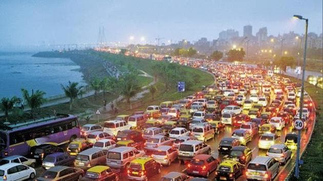 The Tom Tom Traffic Index covers 416 cities from 57 countries(HT FILE)