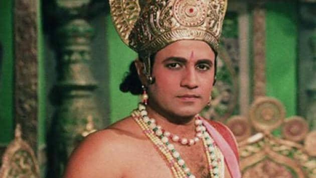 Arun Govil played Lord Ram for years on Ramayan.