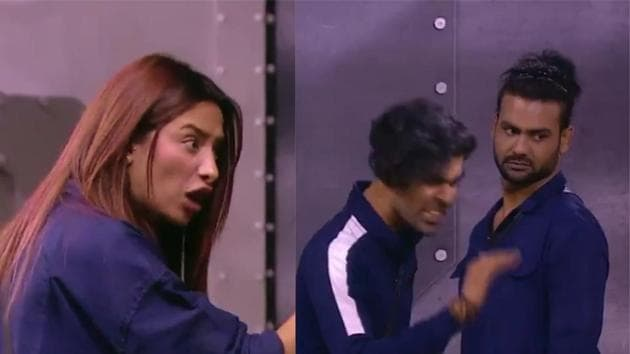 Bigg Boss 13: Mahira Sharma will be seen fighting with Vishal Aditya Singh's brother Kunal in the upcoming episode.