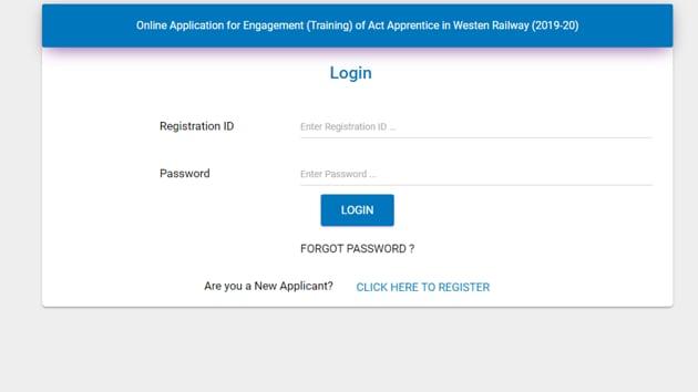 Western Railway Apprentice Recruitment 2020(rrcwr)